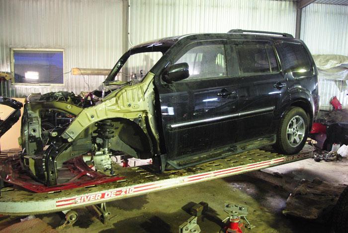 Восстановление кузова, кузовной ремонт в СПб