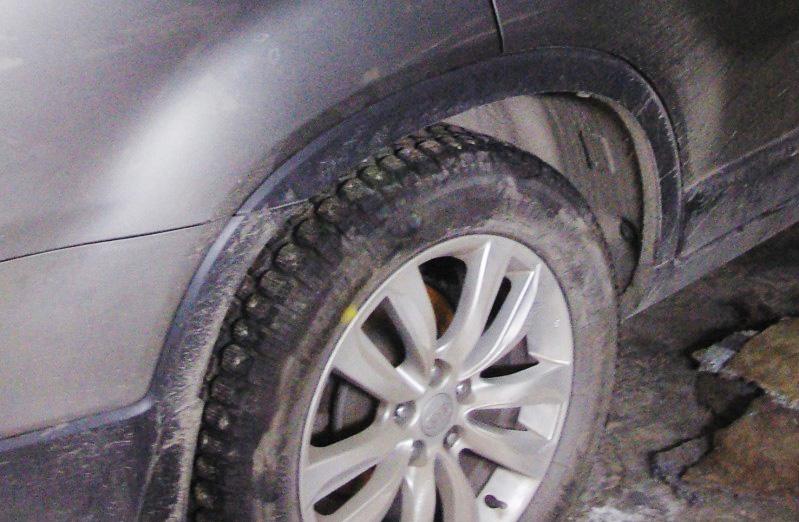 Ремонт арки колеса