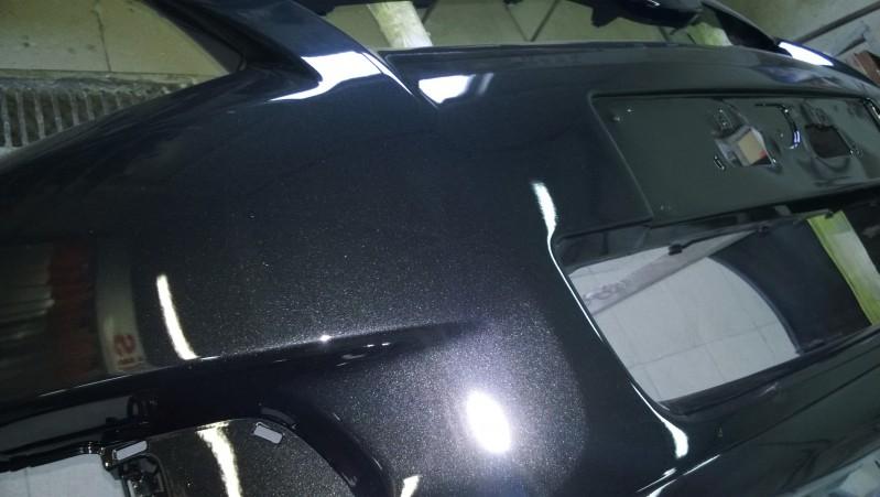 Ремонт сквозной дыры (восстановление фрагмента) в бампере автомобиля Toyota Verso